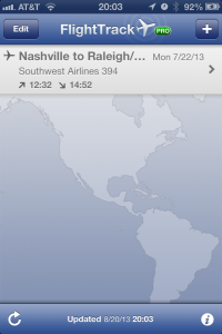 FlightTrack Pro for iPhone