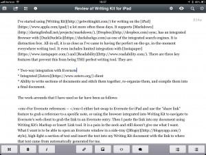 Writing Kit for iPad